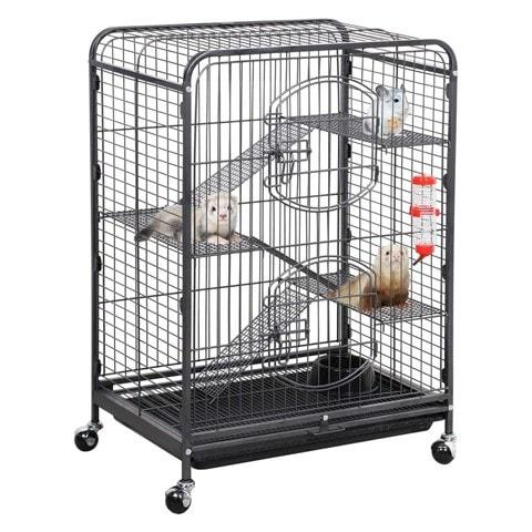 Yaheetech Metal Hedgehog Cage