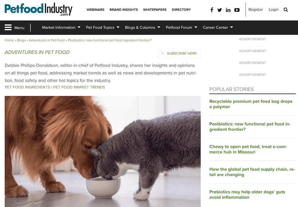 PetfoodIndustry blog