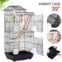 Yaheetech Roof Top Flight Bird Cage