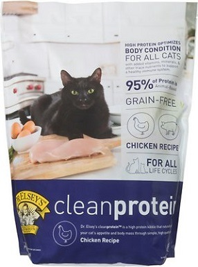 2Dr. Elsey's cleanprotein Chicken Formula Grain-Free Dry Cat Food