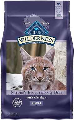 5Blue Buffalo Wilderness High Protein, Natural Adult Dry Cat Food