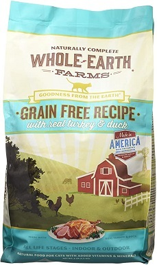 6Whole Earth Farms Grain Free Dry Cat Food