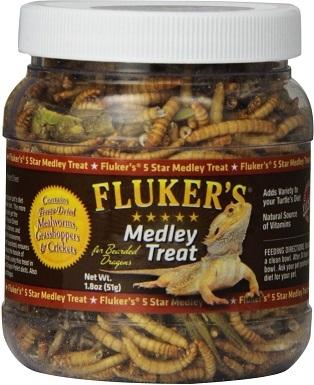 Fluker's 5 Star Medley Freeze-Dried Mealworms