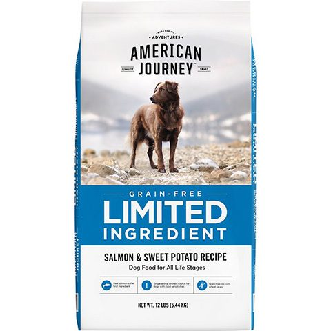 American Journey Limited Ingredient Grain-Free Salmon & Sweet Potato Recipe Dry Dog Food