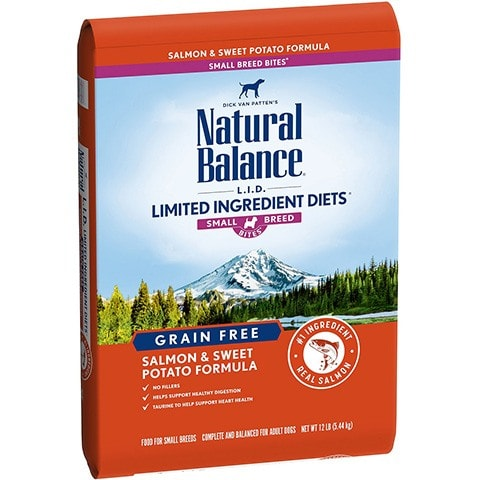 Natural Balance L.I.D. Limited Ingredient Diets Salmon & Sweet Potato Formula Grain-Free Dry Dog
