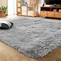 LOCHAS Indoor Modern Area Rugs Fluffy Carpets