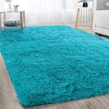 5Soft Modern Indoor Large Shaggy Rug