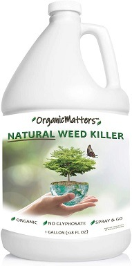 7OrganicMatters Natural Weed Killer Spray