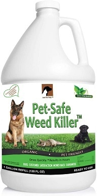 9Just For Pets Pet Friendly & Pet Safe Weed Killer Spray