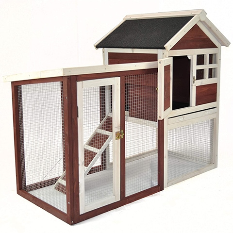 Advantek 21901AN Stilt House Rabbit Cage