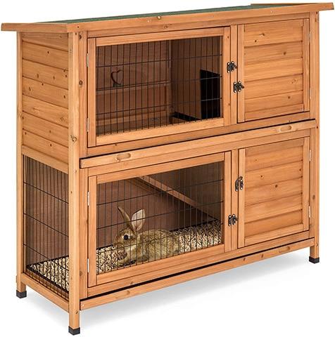 Best Choice Outdoor Wooden Pet Rabbit Hutch