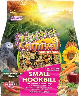 Brown's Tropical Carnival Biscuits