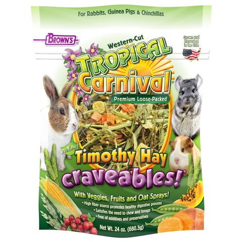 Brown's Tropical Carnival Craveables! Small Animal Food