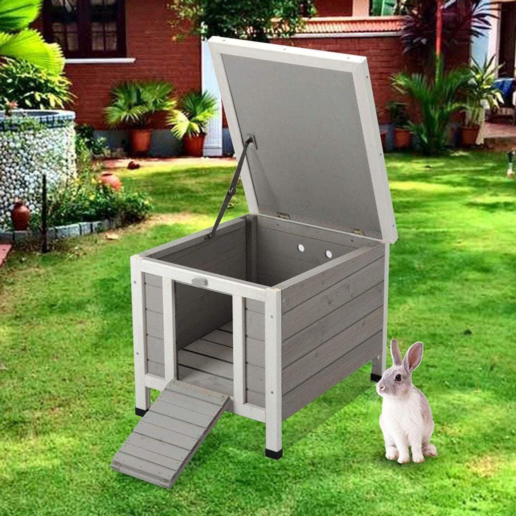CO-Z RHC5142 Topnotch Weatherproof Rabbit Hutch-BG