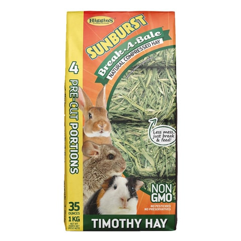 Higgins Sunburst Break-A-Bale Timothy Hay