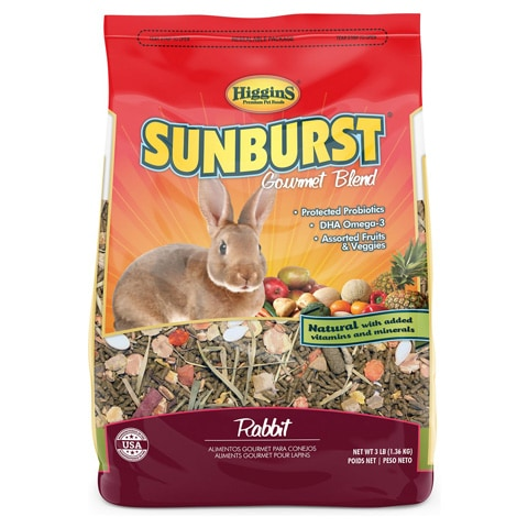 Higgins Sunburst Gourmet Blend Rabbit Food