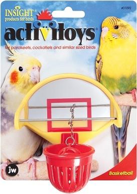 JW Pet Activitoy Birdie Basketball Toy