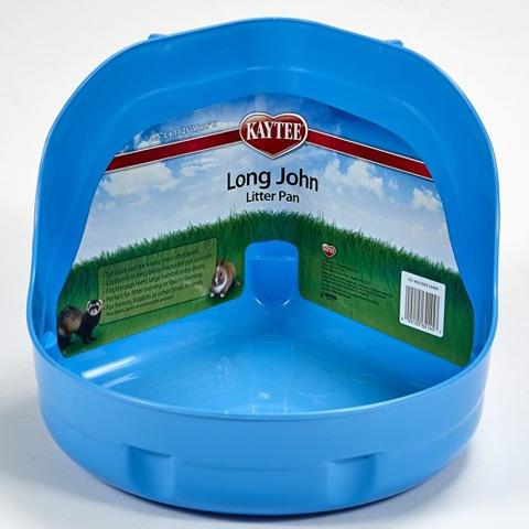 Kaytee 100079482 Long John Litter Pan
