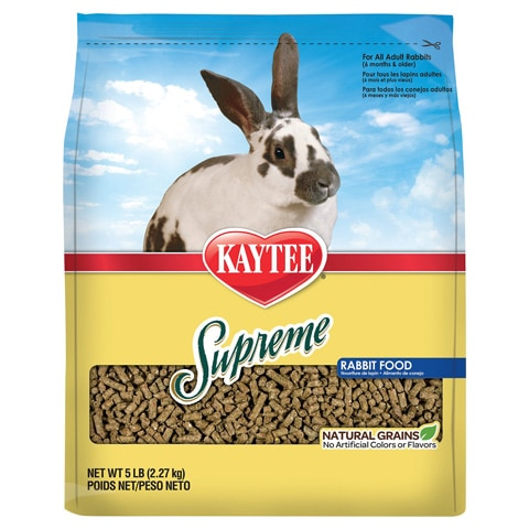 Kaytee Supreme Fortified Daily Diet Rabbit Food