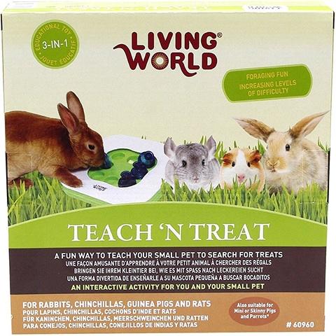 Living World Teach N Treat Small Animal Toy