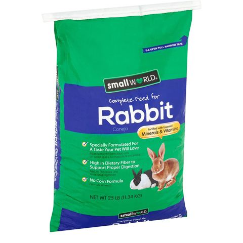 Manna Pro Small World Complete Rabbit Food