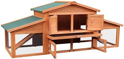 Merax WF019489 Wooden Rabbit Hutch