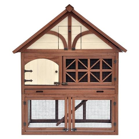 Merry Products Tudor Decorative Rabbit Hutch