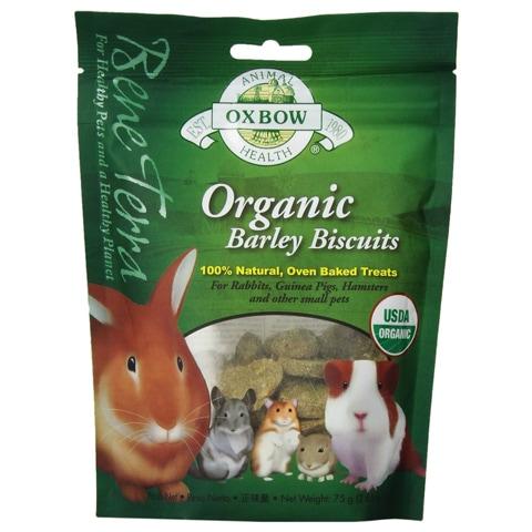 Oxbow Bene Terra Organic Barley Biscuits Treats