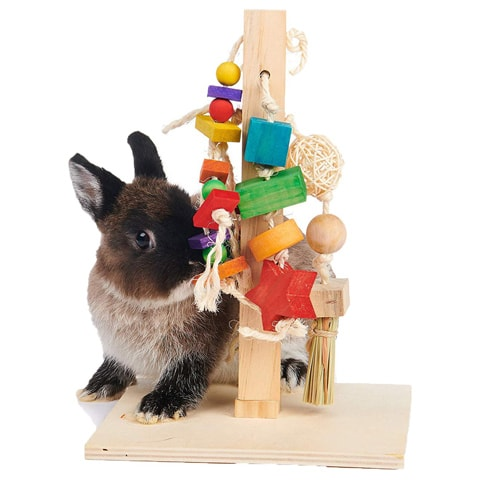 Oxbow Play Post Small Animal Toy