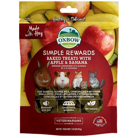 Oxbow Simple Rewards Oven Baked Small Animal Treats