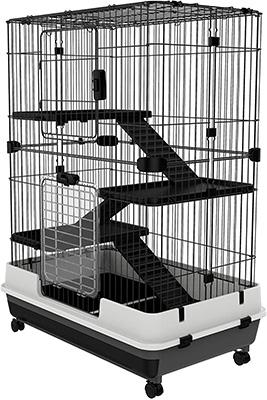PawHut Indoor Small Animal Rabbit Cage