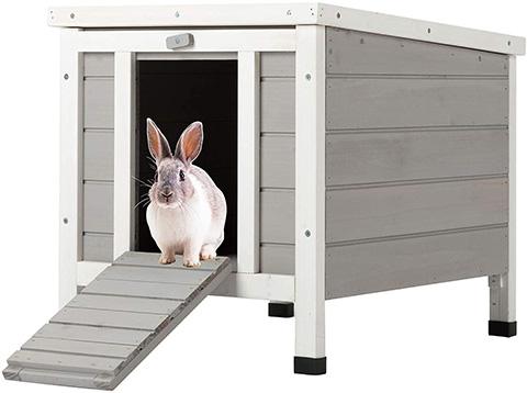 CO-Z RHC5142 Weatherproof Indoor \ Wooden Bunny Rabbit Hutch