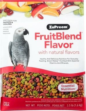 ZuPreem FruitBlend Flavor Parrot Food