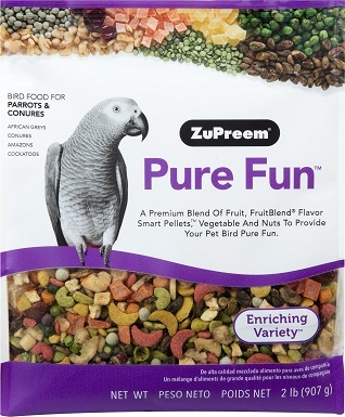 ZuPreem Pure Fun Parrots Food