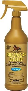 2Farnam Bronco Gold Equine Fly Horse Spray