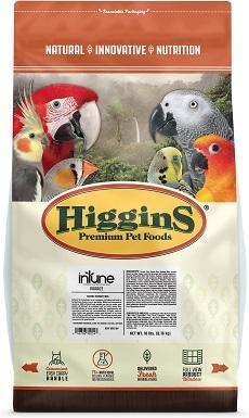 Higgins InTune Natural Parrot Food