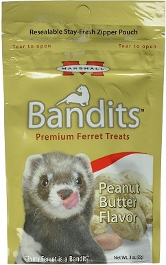 Marshall Bandits Premium Peanut Butter Flavor Ferret — Best Overal