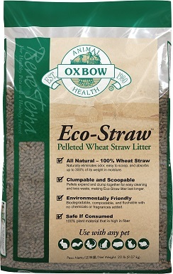 Oxbow Eco-Straw Pelleted Wheat Straw Litter – Premium Choice