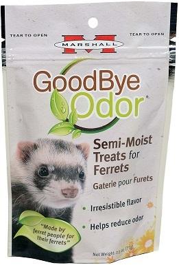 Marshall Goodbye Odor Ferret Semi-Moist Treats