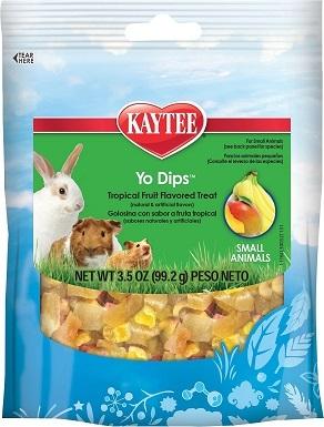 Kaytee Fiesta Tropical Fruit & Yogurt Small Animal Treats
