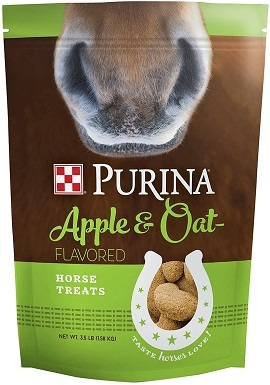 Purina Apple and Oat Flavored Horse Treats