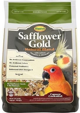 Higgins Safflower Gold Cockatiel Bird Food