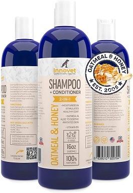 Innovet Pet Products Oatmeal & Honey Shampoo