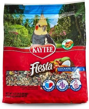 Kaytee Fiesta Variety Mix Cockatiel Bird Food