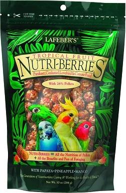 Lafeber Tropical Fruit Nutri-Berries Cockatiel Bird Food