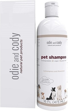 Odie and Cody Natural Pet Shampoo