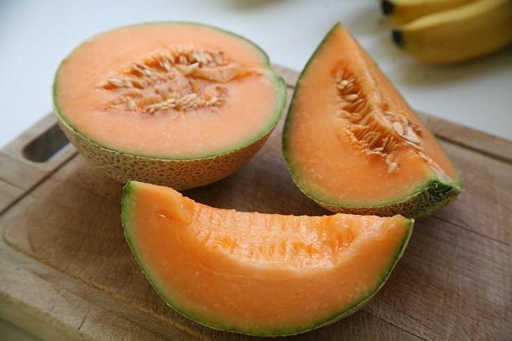 Slicked Cantaloupe