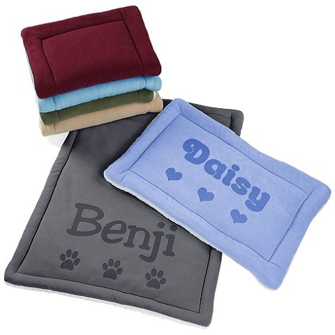 Custom Catch Personalized Dog Crate Mat