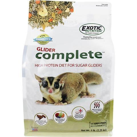 Exotic Nutrition Glider Complete Sugar Glider Food