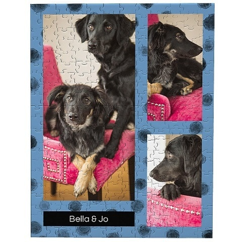 Frisco Personalized Dotted Collage Photo Puzzle